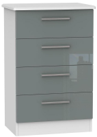 Knightsbridge 4 Drawer Midi Chest